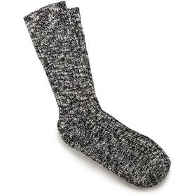 Birkenstock Cotton Slub Socks Herre Black Gray